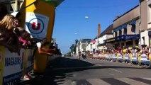 Arrivée de la 4e étape du Tour des Deux-Sèvres 2013