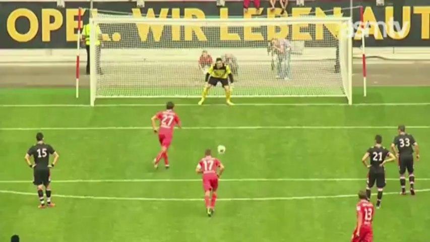 Fortuna Düsseldorf 3-2 ASM FC, les buts