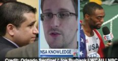3 to See: Zimmerman Protests, Snowden Docs, Tyson Gay