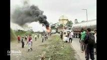 Incidents lors d'une manifestation de mineurs en Colombie