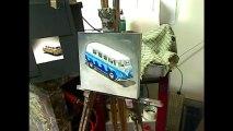Oil painting demo - toy van still-life by Ben Sherar