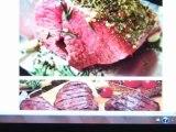 Unhealthy Rare Beef Meat Viande Sanglante Rares French Parasites