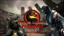 Mortal Kombat 9 Shao Kahn 1ST Fatality HD 720p