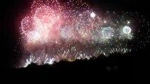 Final Carcassonne Feu artifice 14 juillet 2013