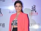 Alia Bhatt unveils the cover of Harpers Bazaar