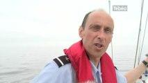 Contrôle en mer avec les Affaires maritimes (Finistère)