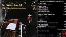 Bill Evans at Town Hall Who Can I Turn To