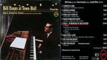 Bill Evans at Town Hall Solo In Memory of His Father