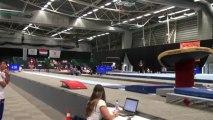 FFGYM - Louise Vanhille, 2013 FOJE, 1er saut