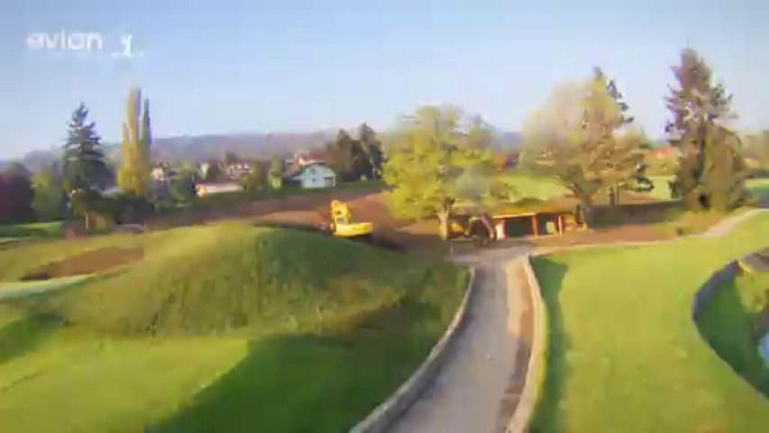 The Evian Championship - Time lapse - New Golf Course