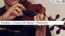 Cours violon : Le pizzicato - HD