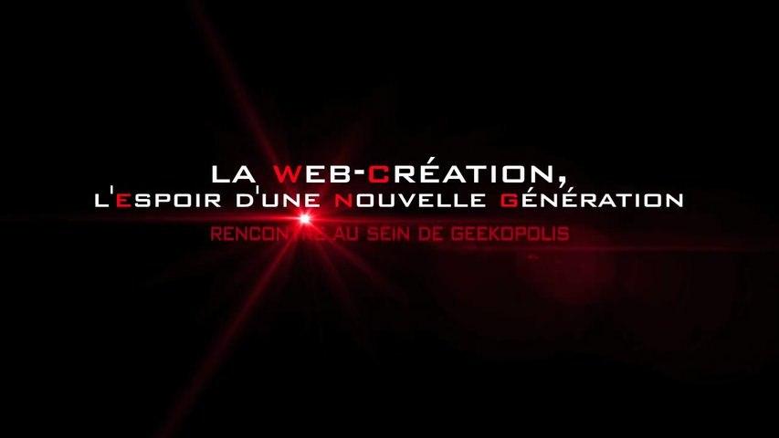 La Web-Création, l'espoir d'une Nouvelle Génération