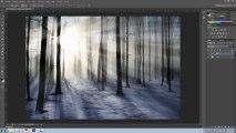 Crear rayos de luz crepuscular - Tutorial Photoshop