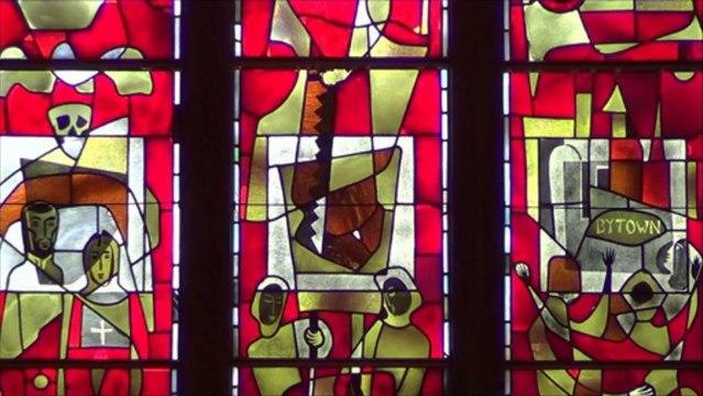 Qu'est-ce qu'il y a à l'oratoire Saint-Joseph du mont Royal de Montréal? (première partie) --- (Québec,Canada)