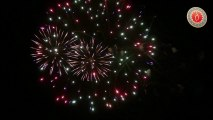 Montigny en Ostrevent - Feu d'artifice du 14 juillet - Samedi 13 juillet 2013