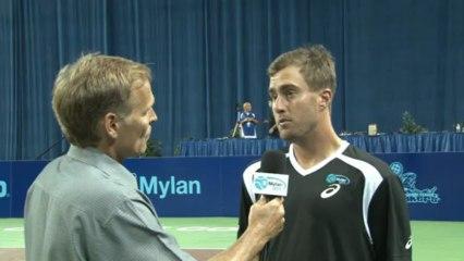 World TeamTennis: Steve Johnson Interview July 7th, 2013