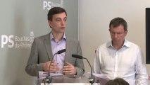 Alain Fontanel et Christophe Borgel présentent l'organisation des Primaires municipales à Marseille