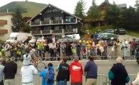 Cyclisme - Tour de France, Gap - l'Alpe d'Huez : les échappés au premier passage de l'Alpe d'Huez