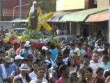 Con gran devoción y fervor los católicos del municipio de Montelíbano asistieron a la procesión de la virgen del Carmen