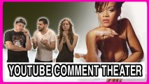 Rihanna Hits Fan With Microphone - Comment Theater