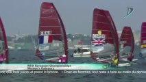 JT Voile Jeudi 18 Juillet Francais - Européen Windsurfing Brest