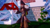 DISNEY INFINITY TRAILER GAMEPLAY révélé à l'E3