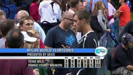 World TeamTennis Highlights: Texas Wild vs Orange County Breakers July 16, 2013