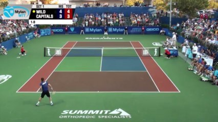 World TeamTennis Highlights: Texas Wild vs Sacramento Capitals July 17, 2013