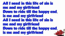 Girlfriend - Icona Pop Karaoke Version and Lyrics