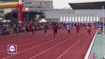 Finale 100m Juniors Garçons Dijon 2013