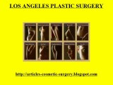 Los Angeles Cosmetic Surgery- Los Angeles Plastic Surgery