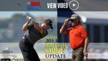 British Open 2013 Round 2 Update: Tiger Woods Holds Steady While Leaders Fall