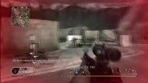 CoD4 Team MP5 Acog Gameplay Commentary - Vikstar123