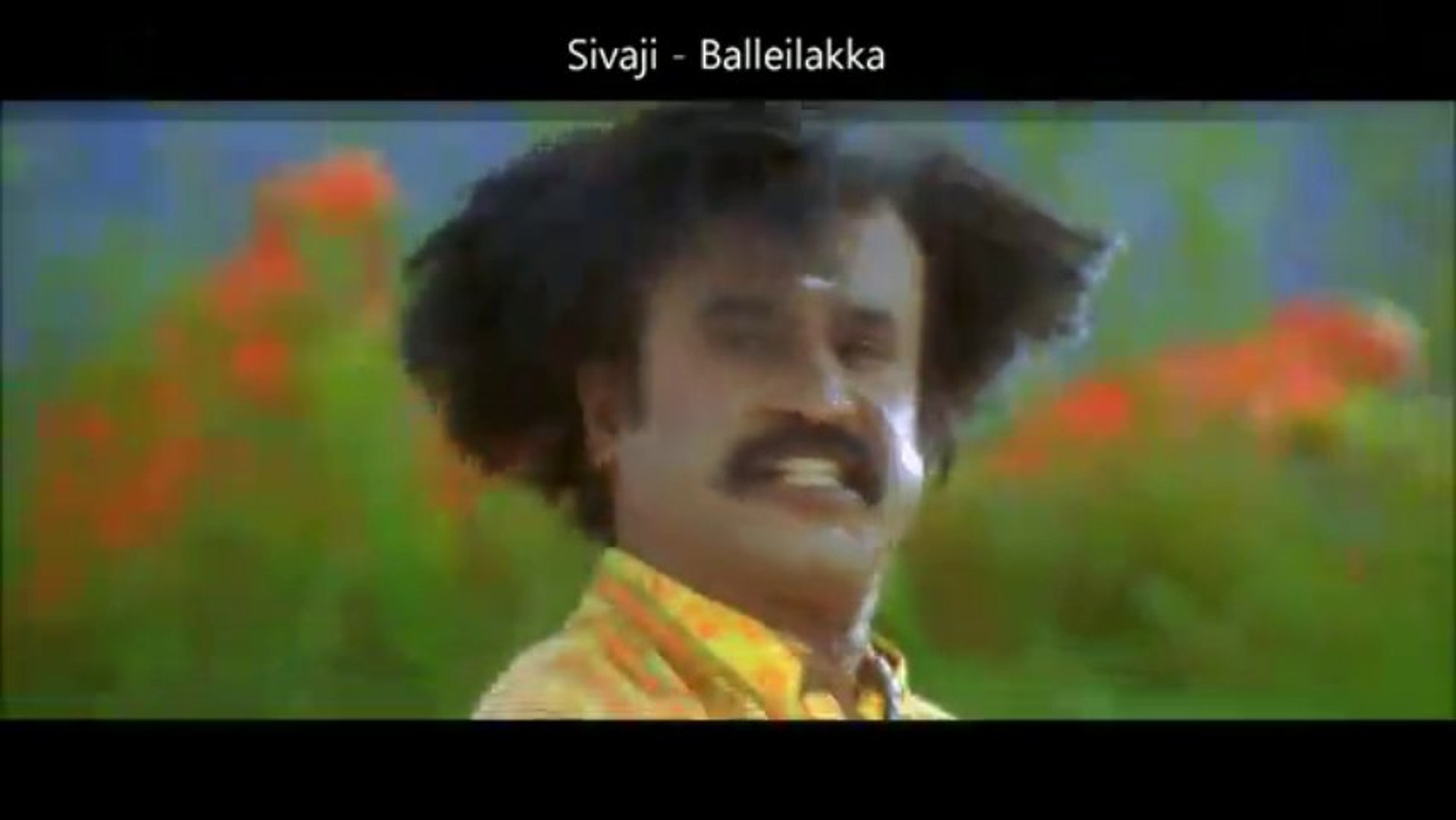 Sivaji - Balleilakka Tamil Video Song