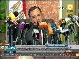 صباح ON: مؤتمر صحفي لوزير الخارجية نبيل فهمي حول السياسة الخارجية لمصر