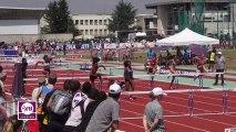 Finale 100m haies Juniors Dijon 2013