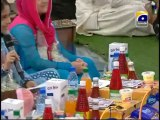 10th Iftari Hamari Iftari Part 1 in Amaan Ramazan with Aamir Liaquat 1434h 20-7-2013