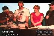 SoloVox poésie musique slam - 19 - Julie Dirwimmer - Poézik-(Moustaki)