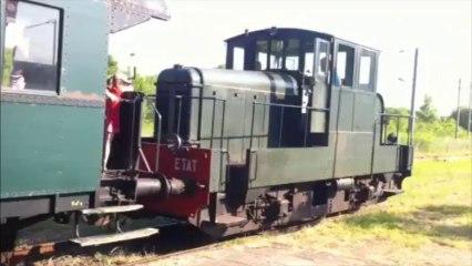 Train BDR au départ de Hombourg Budange