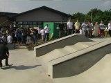 Paul Rodriguez Skateboarding Demo SAFFRON WALDEN