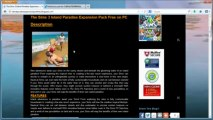 The Sims 3 Island Paradise Expansion Pack Free - Tutorial