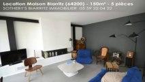 A louer - maison - Biarritz (64200) - 5 pièces - 150m²