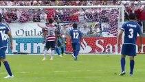 Gol de Zelaya. [Estados Unidos 2-1 El Salvador]