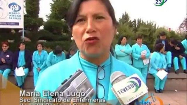 Cusco Enfermeras inician huelga nacional indefinida
