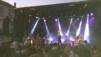 Les Tambours du Bronx à Brioude, dimanche 14 juillet 2013