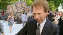 THE LONE RANGER: Jerry Bruckheimer: Lucky to get Johnny Depp