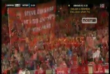 Steven Gerrard Goal vs Victory