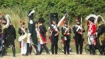 Revue des troupes Napoléonienne à Boulogne-sur-mer