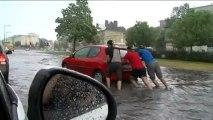 Près de 700 interventions des pompiers à Caen après un violent orage