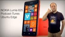 freshnews #481 Podcasts iTunes. Nokia Lumia 625. Ubuntu Edge (23/07/13)